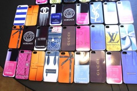Luxury at your finger tips. Phone cases with all your favorite brands!