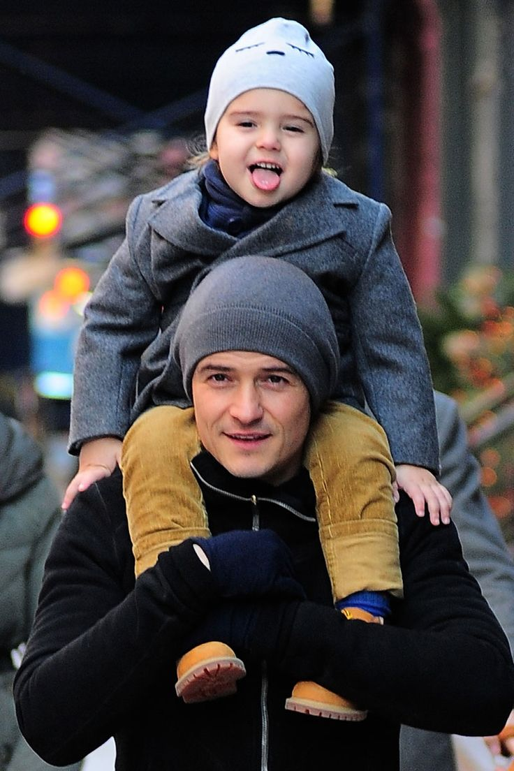Orlando Bloom ~ The 42 Hunkiest Celebrity Dads of All Time  - ELLE.com