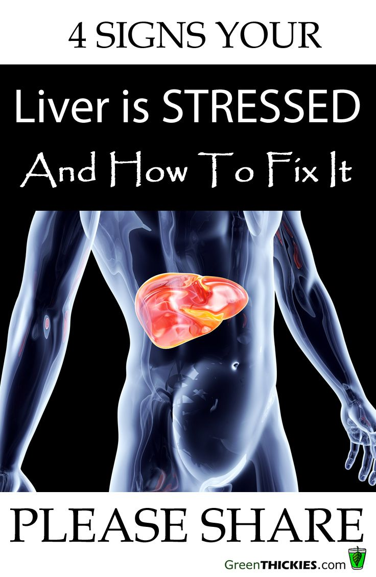 4 Signs Your Liver is STRESSED & How To Fix It.  http://www.greenthickies.com/4-signs-liver-stressed-fix/