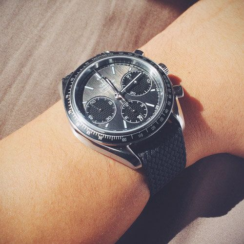 FS: Omega Speedmaster Racing Co-axial Column Wheel Chronograph cal. 3330 black MINT Condition Image 12