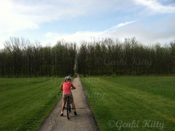 Biking on UND