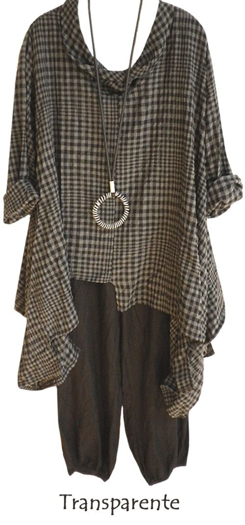 .tunic Love the color.  Hate the print ugh houndstoothy prefer lower necklines.