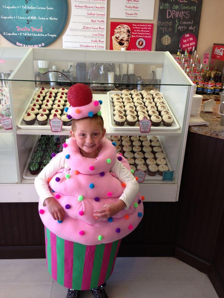 My daughter's cupcake costume!