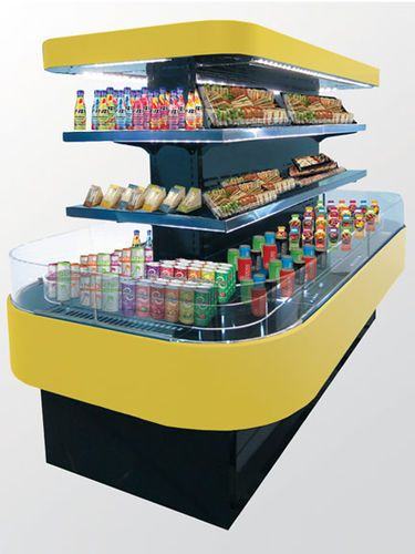 Island refrigerated display case / supermarket CENTRO Oscartek