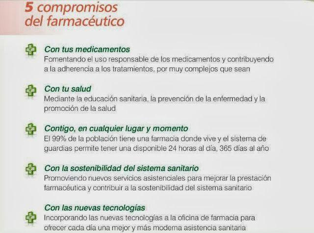 5 compromisos del #farmaceutico -> 25 Septiembre: Día Mundial del Farmacéutico #farmacia #dmf2013