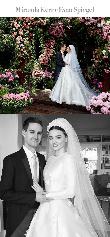 Retrospectiva: Os casamentos de 2017 - Miranda Kerr e Evan Spiegel