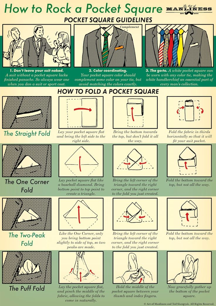 The pocket square is a small accessory that, when added to a get-up, allows men to express themselves and vary their look without having to buy a whole bunc