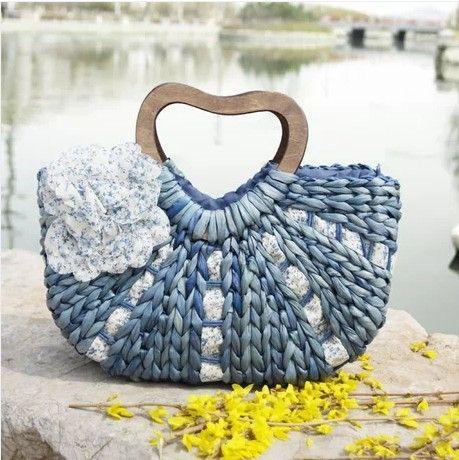 Fashion girls beach bag 2014 hot sell girls beach handbag eco-friendly girls beach bag  free shipping $23.55