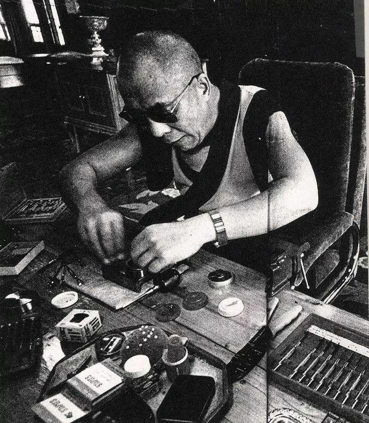 14,th Dalai Lama Watch DIY :)