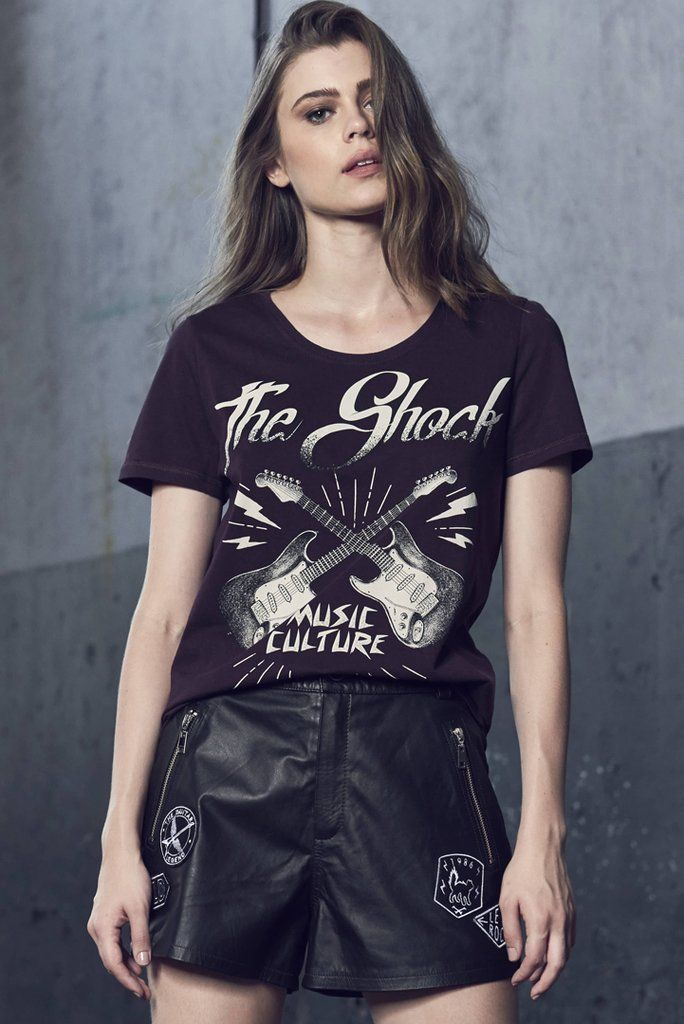 Camiseta Estampa Guitar - Comprar em SHOP COLCCI