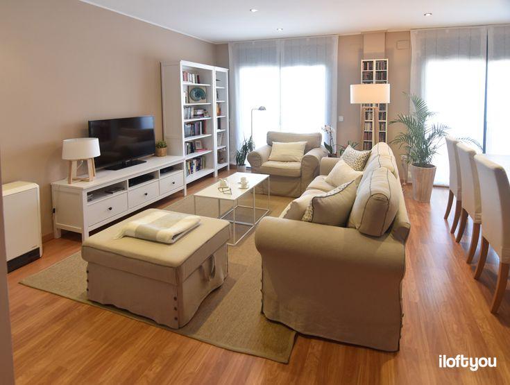 #proyectomollerussa #iloftyou #interiordesign #interiorismo #ikea #ikealover #ikeaaddict #livingroom #maisonsdumonde #ektorp #hemnes #white #wood #osted #dinningroom