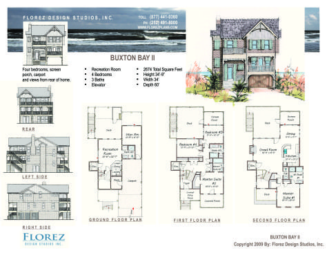 North Carolina Coastal House Plans House And Home Design