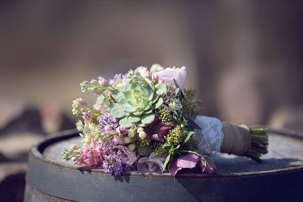{Inspiration shoot} Rosa, viola e piante succulente