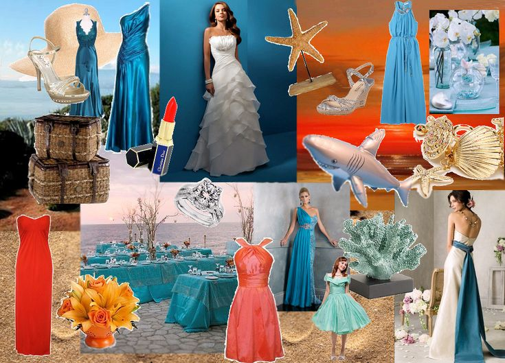 Wedding Beach Color Schemes