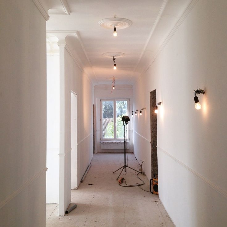 Interior Castle Borgwal Vurste. Renovation Almost