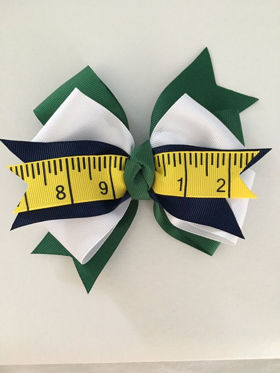 School Hair Bow Back to School Bow School Uniform Hair Bow