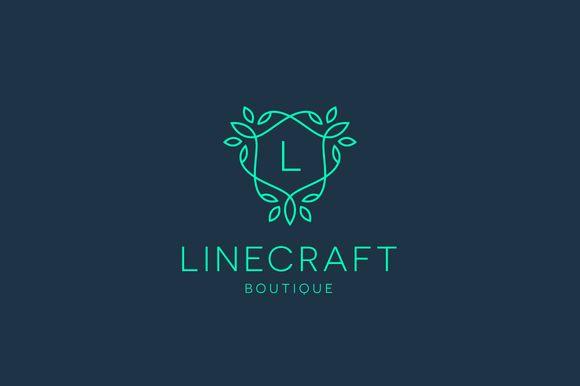 Linecraft Boutique Logo Bundle by Tortugastudio on Creative Market