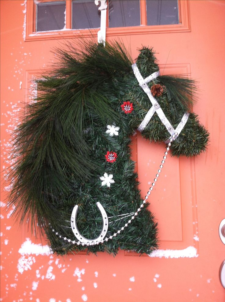 17 Best Images About Horse Head Wreaths And Others Designs