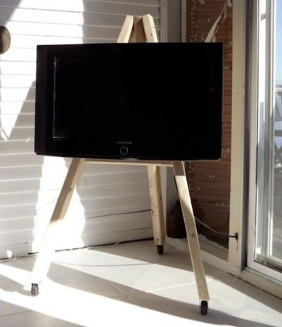 Flat Screen Tv Stands With Wheels
