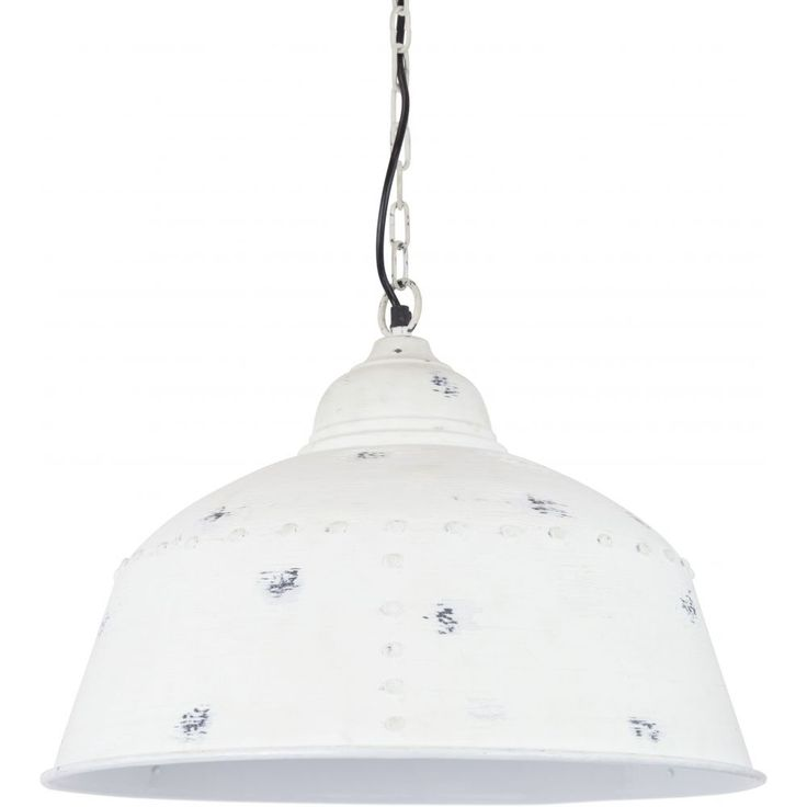 The Artois pendant light exudes rustic, industrial character in a wide range of applications. Available in a variety of finishes, it comes standard with a 1m long chain, which can be shortened as required, and takes an E27 60W globe (not included). Suitable for interior use only, must be fitted by a licensed electrician.