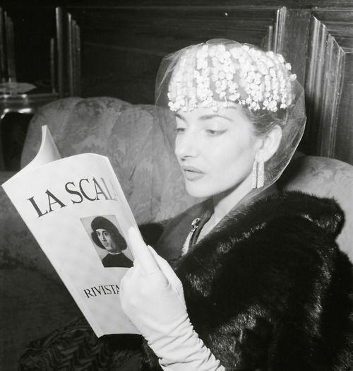 Maria Callas, 1950s