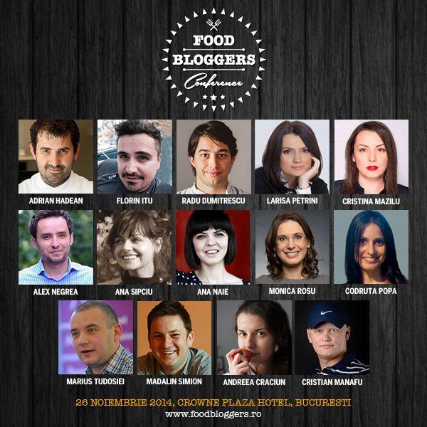 Food Bloggers Conference - blogging gatit la foc mic!
