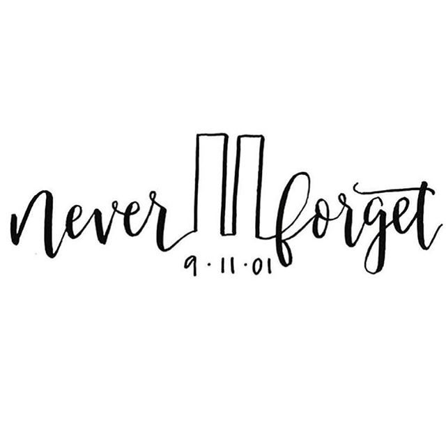 15 years ago today we lost loved ones, heroes, and a sense of peace in our nation. Days like today help us realize how precious time really is! Let's try to hug our loved ones a little tighter, serve those around us more, and make the most of the time we have NOW. You just never know when something tragic could happen. Let us never forget that sad day 15 years ago! #911 #911neverforget #neverforget #unitedwestand