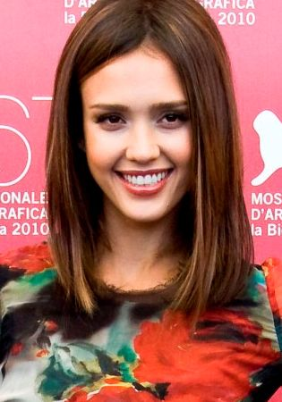 jessica alba angled hair - Google Search