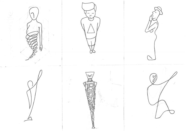 Line and geometric body drawing