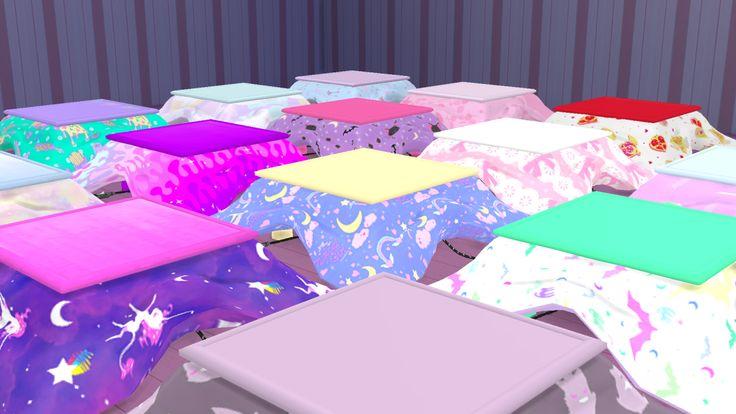 sims 4 mods ~ kawaii kotatsu | Take My Money! | Sims 4 ...