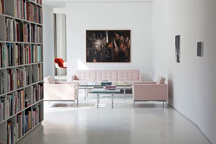 project bfs d in berlin germany product florence knoll sofa and lounge chair pc giorgio. Black Bedroom Furniture Sets. Home Design Ideas
