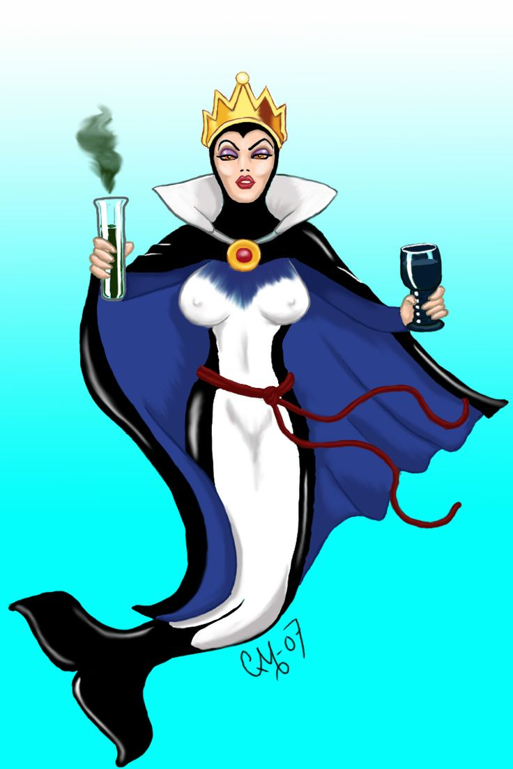Evil Queen Mermaid Killerwhale by sparvflickan.deviantart.comKillers Whales, Killerwhale, Disney Mermaid, Mermaid Killers, Queens Mermaid, Evil Queens, Disney Villians, Disney Fashion, Snow White