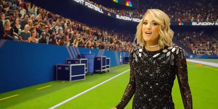 "[Video] Carrie Underwood Looks Totally Badass in New ""Sunday Night Football""…"