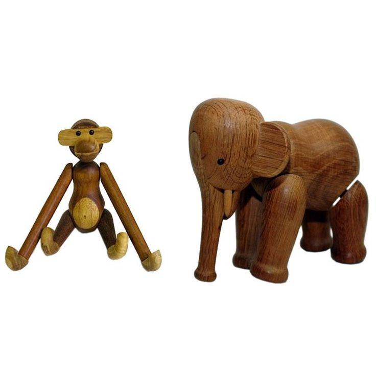 Selection of Vintage Executive Toys & Animals by Kay Bojesen | From a unique collection of antique and modern toys at http://www.1stdibs.com/furniture/more-furniture-collectibles/toys/