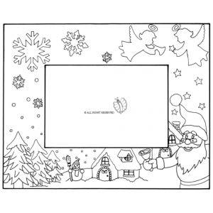 Cornice di Natale Orizzontale