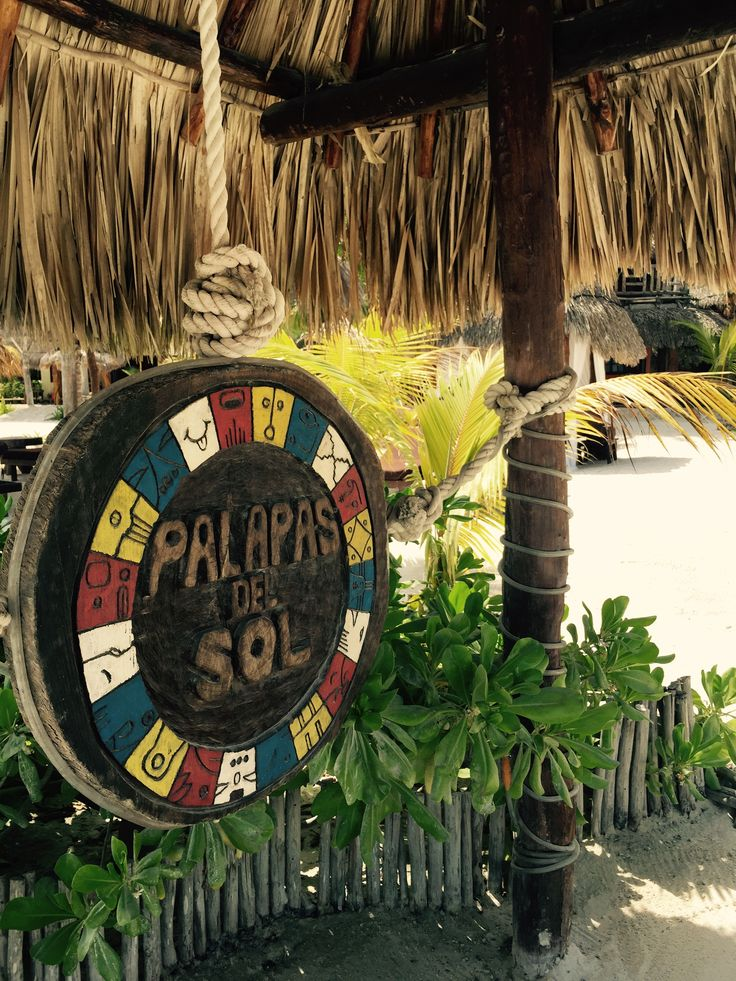 Palapas del Sol in Holbox, Mexico.   Love this low key place.