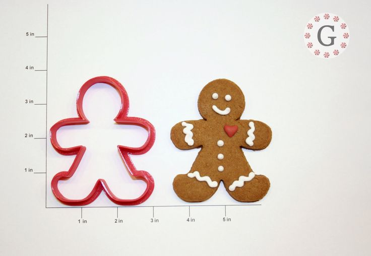 Tall Gingerbread Man Cookie Cutter by GingerbreadCutterCo on Etsy https://www.etsy.com/listing/175843471/tall-gingerbread-man-cookie-cutter