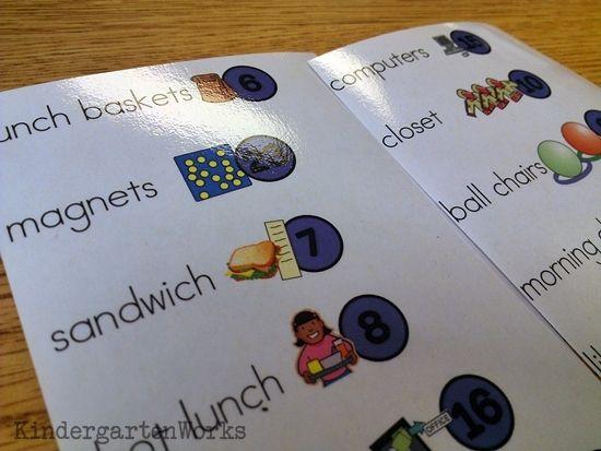 KindergartenWorks :: Classroom Jobs for Kindergarten {Free Printable} - Easy way to print jobs/ change each year as needed. Make 1 list and cut!