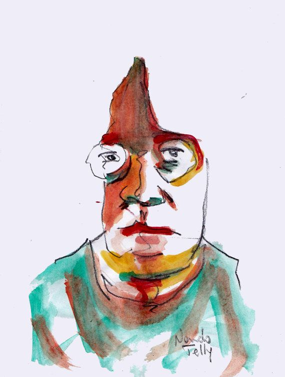 henry miller paint by NandoTelly on Etsy, €29.00