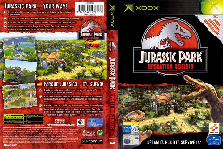 Jurassic Park : Operation Genesis PC Games | Surya's Journal