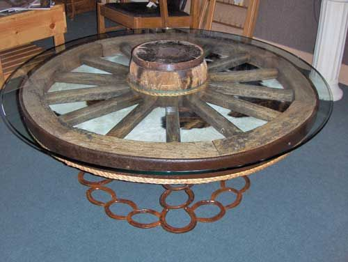 25 best wagon wheels images on pinterest | wagon wheel table