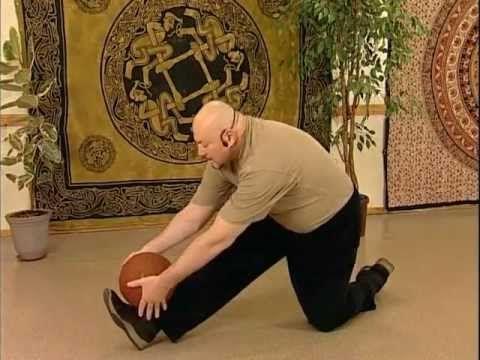 Цигун - Упражнения для спины (Chi Quong - Exercises for a back). Упражнения для позвоночника.