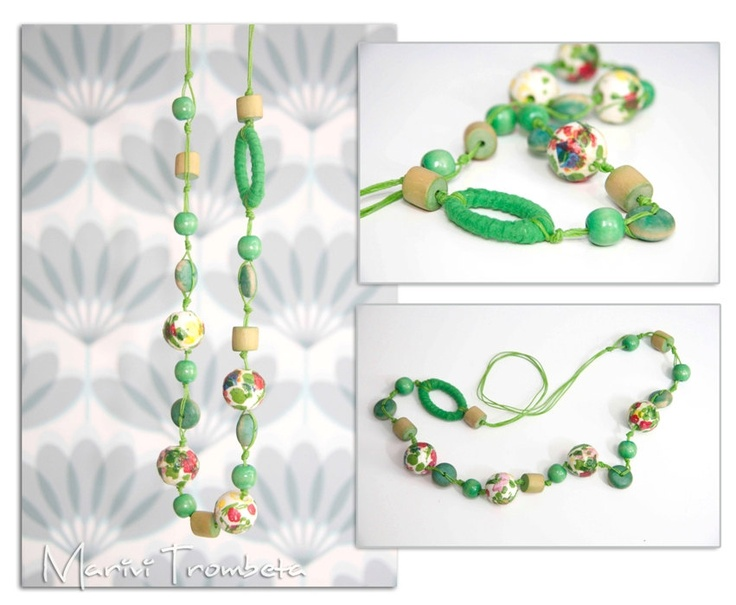 Necklaces tottaly handmade. $10,50, via Etsy.