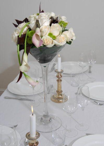glass wedding centerpieces - Google Search