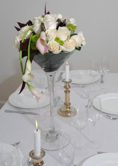 69 Best Images About Martini Glass Wedding Centerpiece On Pinterest