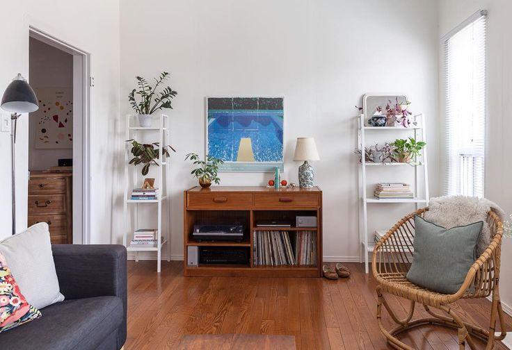 Two Ikea 'Lerberg' shelves @laurenkolyn