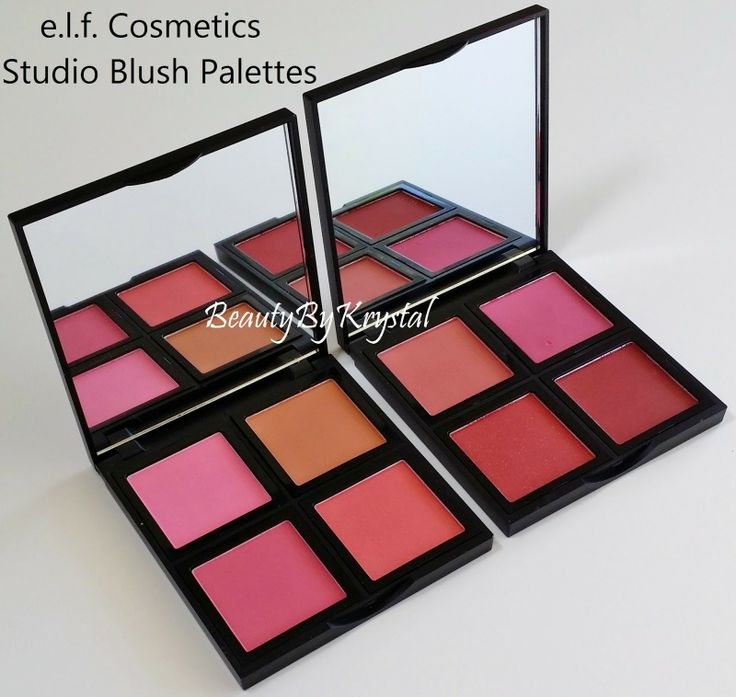 NEW ON Beauty By Krystal: @Evan Sharp.l.f. Cosmetics Studio Blush Palettes - Review & Swatches