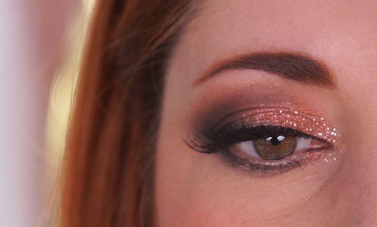 Maquillage de fête pour un Noël en amoureux #christmas #makeup #beauty