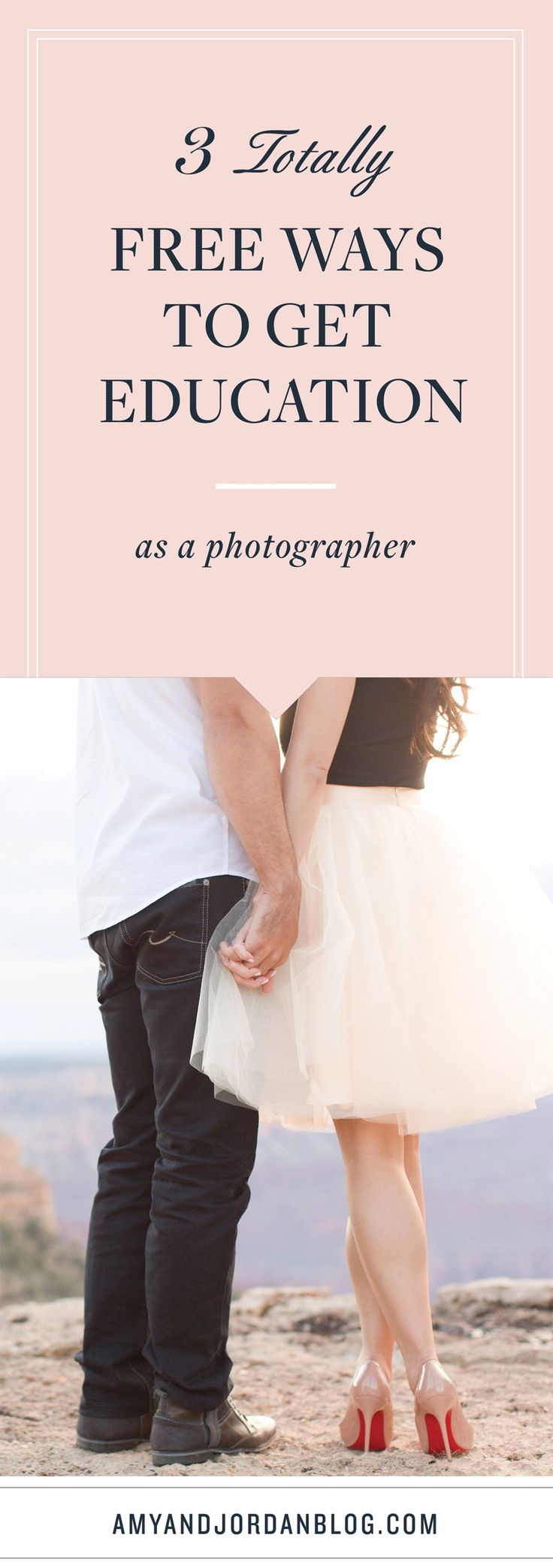 We're sharing 3 totally free ways to get education as a photographer!
