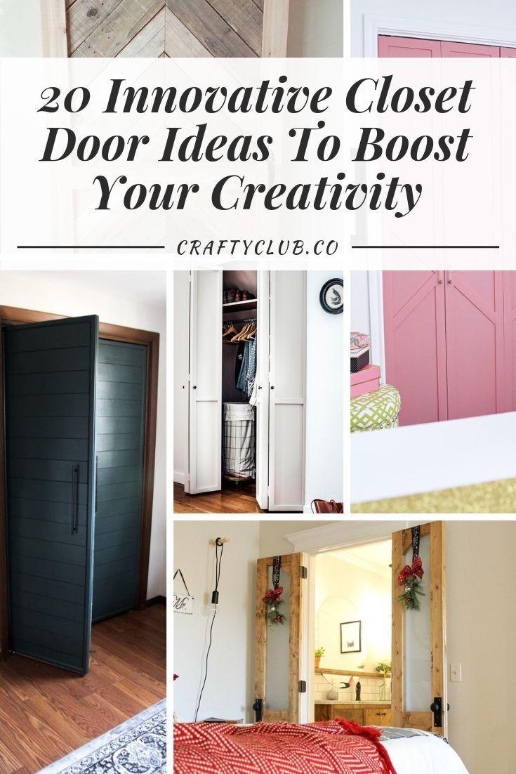 20 Innovative Closet Door Ideas To Boost Your Creativity Diy